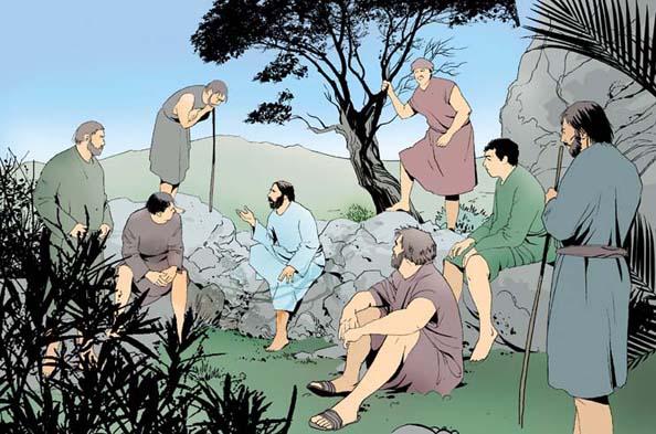 Jesus Cristo ensinou aos apóstolos