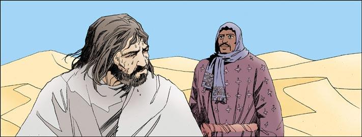 Jésus tentation au désert