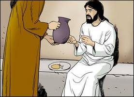 Jesus receives