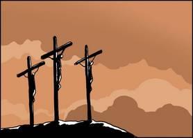Jésus le Golgotha