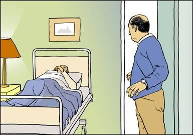 Visites les malades