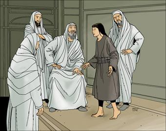 Jésus-Christ et les docteurs de la loi
